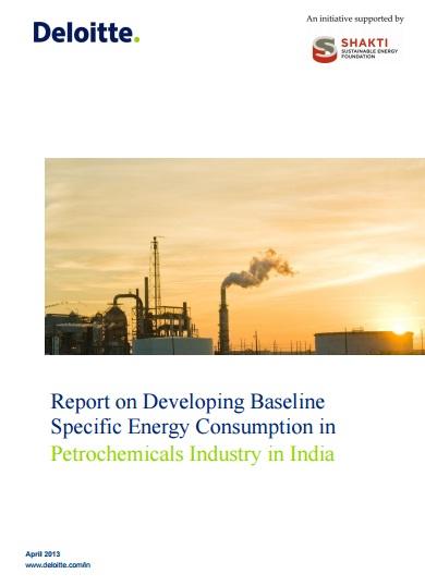 Establishing the Baseline SEC for the Petrochemical Sector